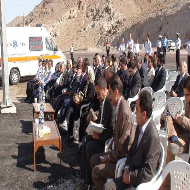 افتتاح پایگاه اورژانس 115 ثمن شاهی
