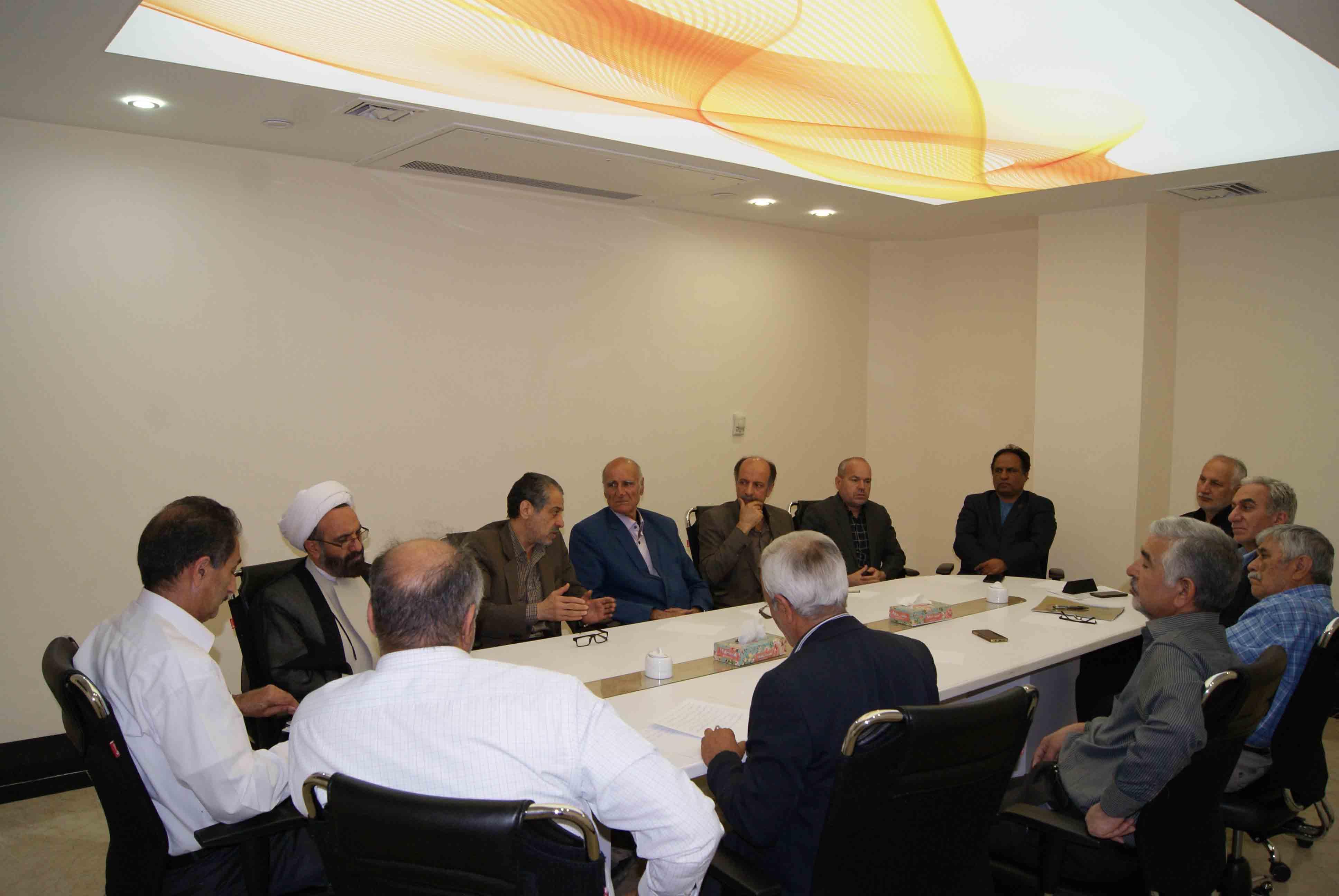 شکل گیری جلسه هیئت مدیره و کمیته تبلیغات مجمع خیرین سلامت استان