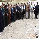 مراسم کلنگ زنی پایگاه اورژانس 115 شهر قهستان