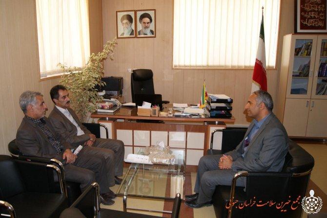 نشست صمیمی با نماینده وزارت امور خارجه در خراسان جنوبی