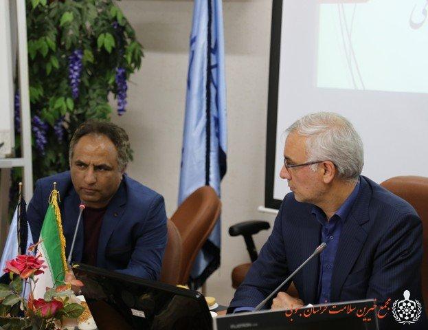 نشست صمیمانه سمن های استان با حضور قائم مقام وزیر بهداشت در امور مشارکتهای اجتماعی