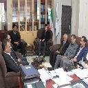 دیدار مدیرعامل مجمع خیرین سلامت استان با  دکتر جاوید شهردار بیرجند