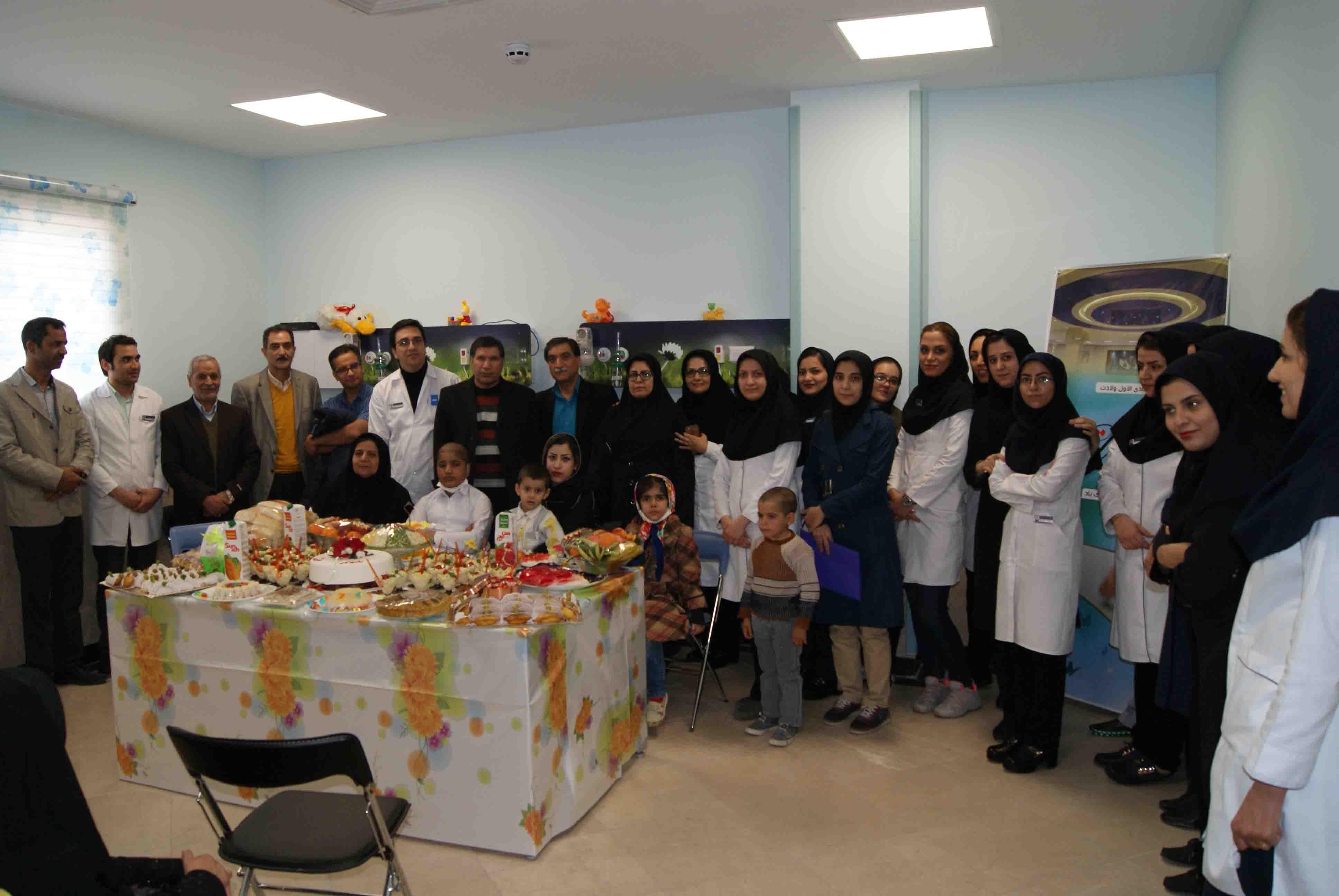 تقدیر از پرستاران گرانقدر بیمارستان ایران مهر بمناسبت روز پرستار